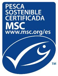 Sello pesca sostenible de MSC